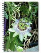 Colorfull Flower Spiral Notebook