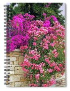 Colorful Flowering Shrubs Spiral Notebook