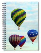 Colorful Four Spiral Notebook