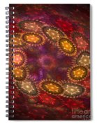 Colorful Galaxy Of Stars Spiral Notebook