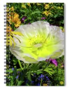 Colorful Garden Spiral Notebook