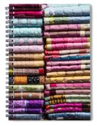 Colorful Garment Spiral Notebook