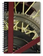 Colorful Gears Spiral Notebook