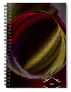 Colorful Glass Marble Art  Spiral Notebook