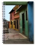 Colorful Guayaquil Alley Spiral Notebook