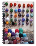 Colorful Hats Spiral Notebook