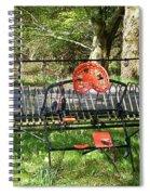 Colorful Hay Rake Spiral Notebook