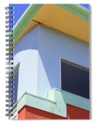 Colorful House In San Francisco Spiral Notebook