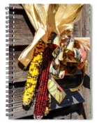Colorful Indian Corn Decorations Spiral Notebook