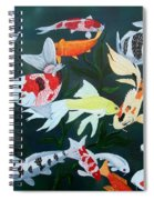 Colorful Koi Spiral Notebook