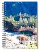 Colorful Landscape Spiral Notebook