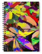 Colorful Leaves Spiral Notebook