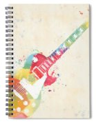 Colorful Les Paul Spiral Notebook