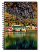 Colorful Lofoten, Norway Spiral Notebook