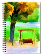 Colorful Maple Tree In The Autumn Spiral Notebook