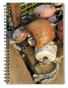 Colorful Marker Buoys Spiral Notebook