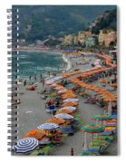 Colorful Monterosso Spiral Notebook