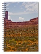 Colorful Monument Valley Spiral Notebook
