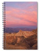 Colorful Mountains Spiral Notebook