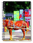 Colorful New Orleans Spiral Notebook