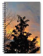 Colorful Nightfall Spiral Notebook