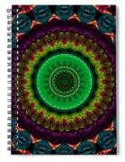 Colorful No. 4 Mandala Spiral Notebook
