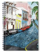 Colorful Old San Juan Spiral Notebook