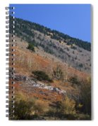 Colorful Orient Canyon - Rio Grande National Forest Spiral Notebook