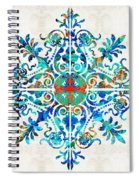 Colorful Pattern Art - Color Fusion Design 5 By Sharon Cummings Spiral Notebook