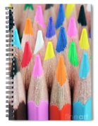 Colorful Pencils Spiral Notebook