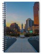 Colorful Philadelphia Morning Spiral Notebook