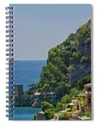Colorful Positano Spiral Notebook