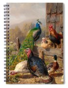 Colorful Poultry Spiral Notebook
