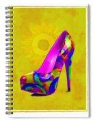 Colorful Pump Spiral Notebook