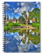 Colorful Reflections Spiral Notebook