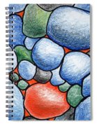 Colorful Rock Abstract Spiral Notebook