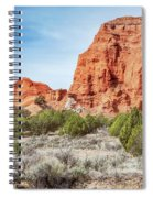 Colorful Rock Formations In Kodachrome Basin State Park, Utah Spiral Notebook