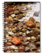 Colorful Rocks With Waterfall Spiral Notebook