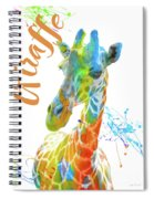 Colorful Safari Animals D Spiral Notebook