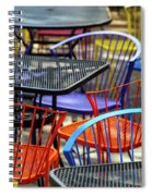 Colorful Seating Spiral Notebook
