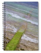 Colorful Seawall Spiral Notebook