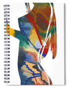 Colorful Shape Spiral Notebook