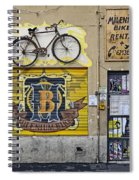Colorful Signage In Palma Majorca Spain Spiral Notebook