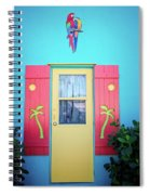 Colorful Signs Of The Tropics Spiral Notebook