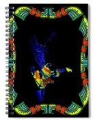 Colorful Slide Playing Spiral Notebook