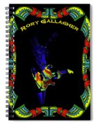 Colorful Slide Playing By Rory Spiral Notebook