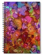 Colorful Spring Garden Spiral Notebook