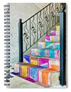 Colorful Stairs Spiral Notebook