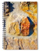 Colorful Stone Spiral Notebook