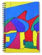 Colorful Street Art Spiral Notebook
